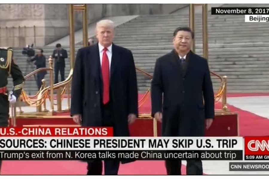 سی ان ان: سفر آینده رییس جمهور چین به آمریکا انجام نمی گردد