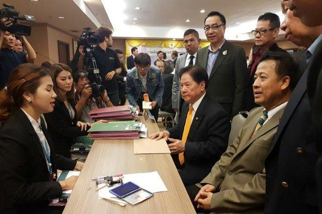 شروع ثبت نام احزاب سیاسی جدید در تایلند