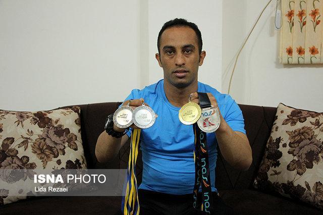 قهرمان دوومیدانی معلولان دنیا:در حال تسویه بدهی هزینه های مسابقات دنیای هستم