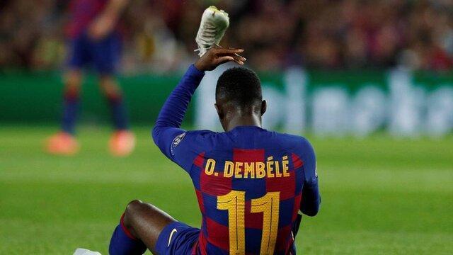 بارسلونا دمبله را نمی فروشد
