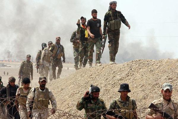 عملیات حشد شعبی در دیالی عراق، انهدام تونل های داعش
