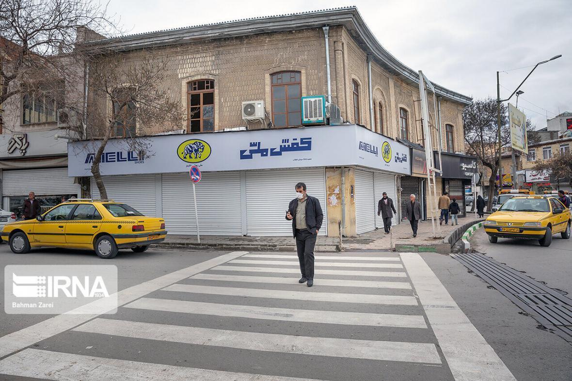 خبرنگاران طرح زوج و فرد در معابر شهری کامیاران اجرا می شود