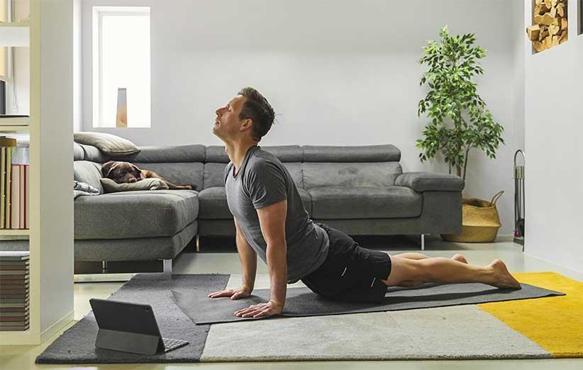10 حرکت ورزشی ساده برای تقویت تمام عضلات بدن در خانه