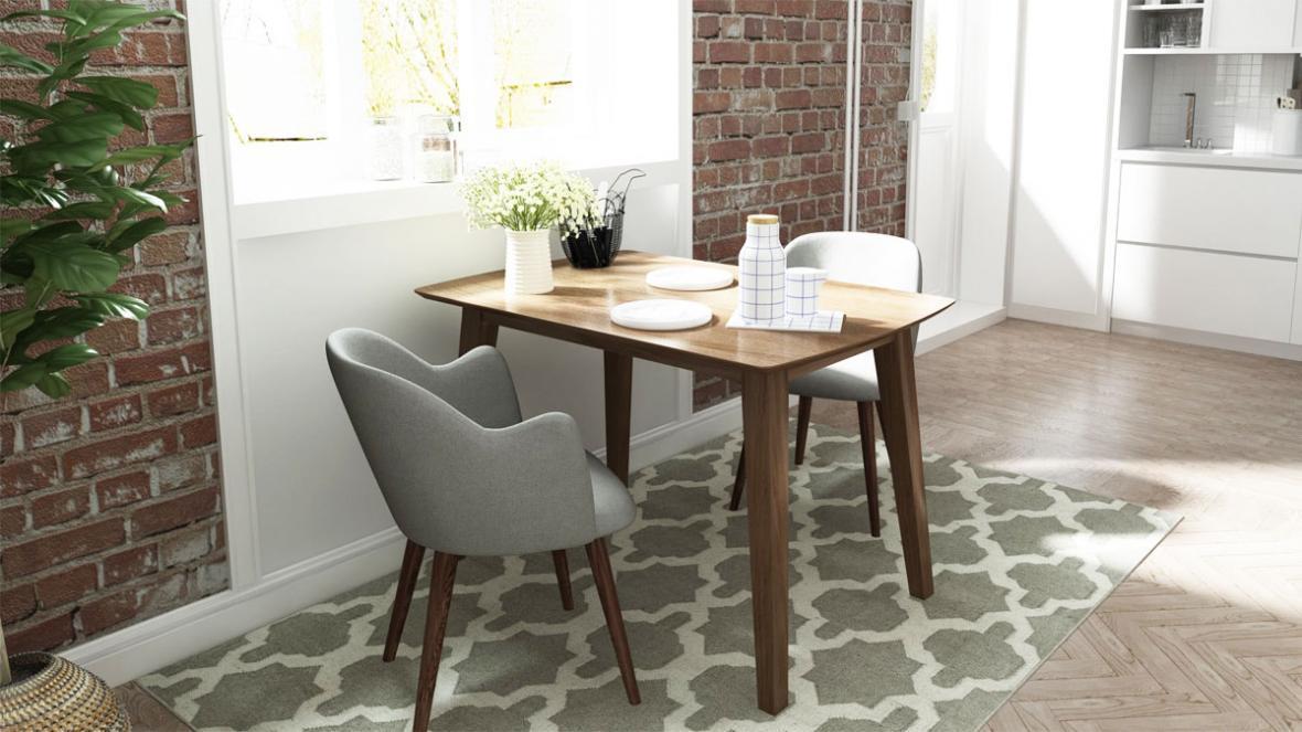 میز ناهارخوری کم جا بهترین گزینه برای آپارتمان های نقلی