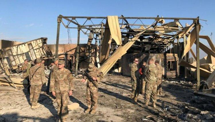 آمریکا به سربازان مجروح در حملات موشکی ایران مدال داد
