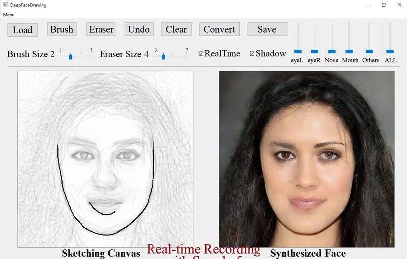 این هوش مصنوعی طرح های ساده را به عکس پرتره تبدیل می کند