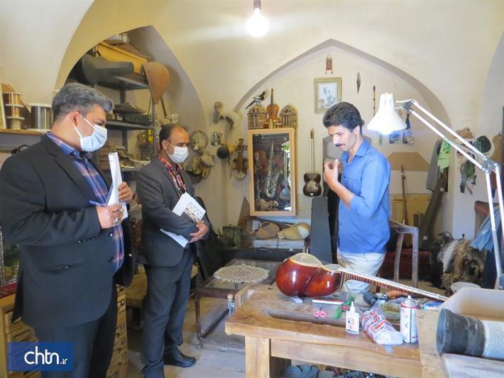 بازدید مشترک از کارگاه های مشاغل خانگی شهرستان بیرجند