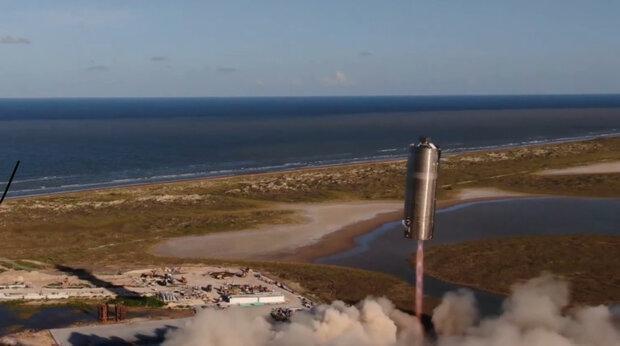 موشک استارشیپ به ارتفاع 150متری پرید
