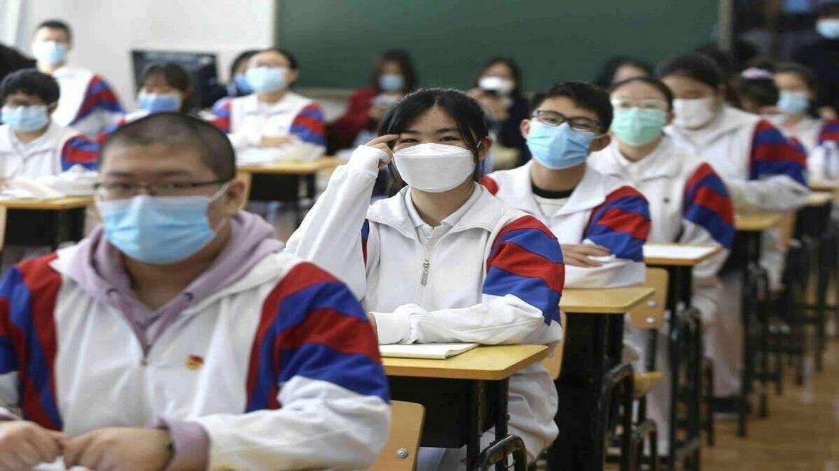 بازگشت دانش آموزان ووهان به مدارس