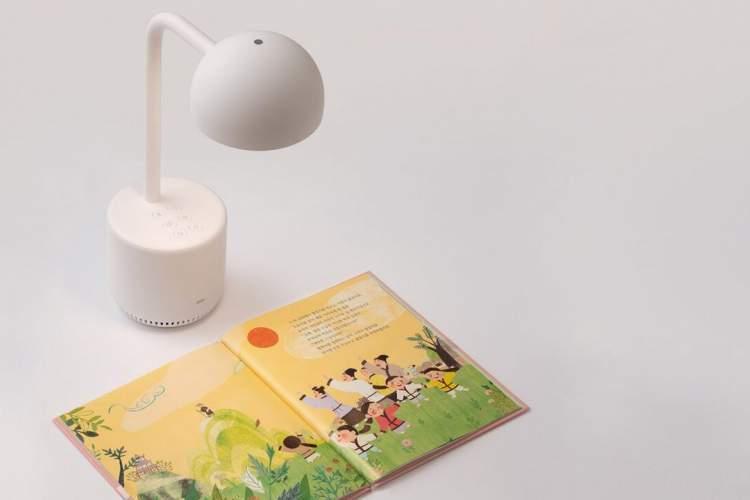ابداع چراغ مطالعه هوشمندی که برای بچه ها کتاب می خواند