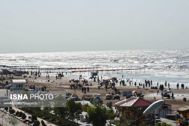 قابل دسترس بودن سواحل گیلان یکی از عوامل جذب مسافران است