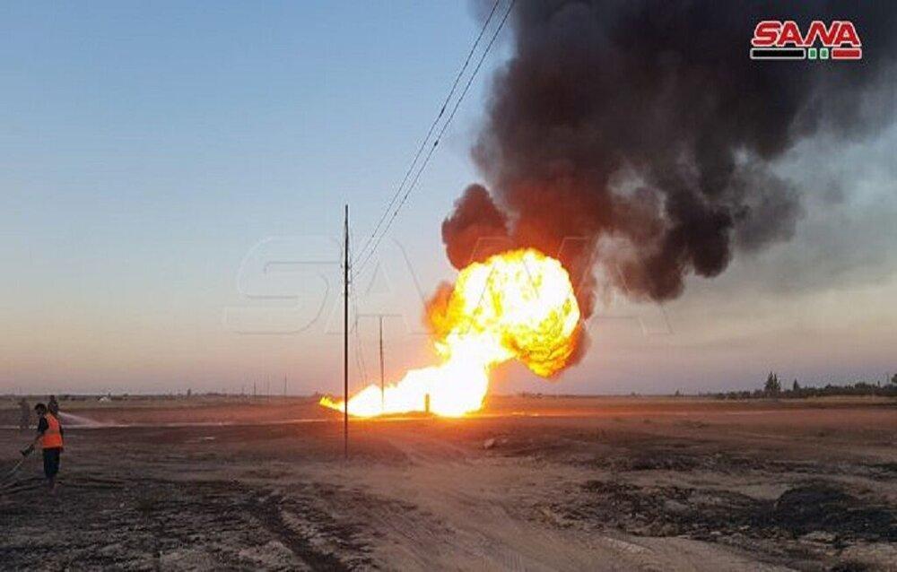 جزئیات تازه از انفجار در خط اصلی گاز سوریه