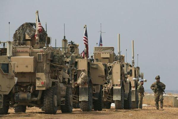 انفجار بمب در راستا کاروان نظامیان آمریکا در عراق