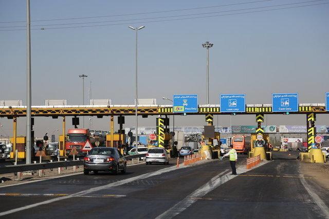 عوارضی آزادراه تهران - شمال موقتی است