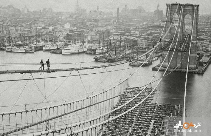 مشهورترین بنا های تاریخ را قبل و بعد از ساخت ببینید