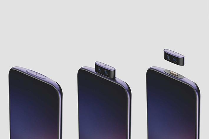 رونمایی ویوو از موبایل مفهومی با سلفی جداشونده