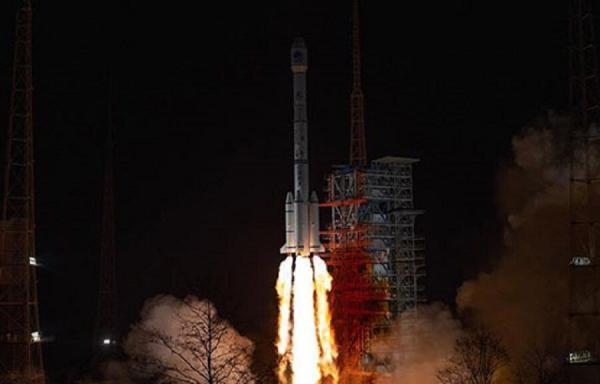 چین یک ماهواره جدید به فضا پرتاب کرد