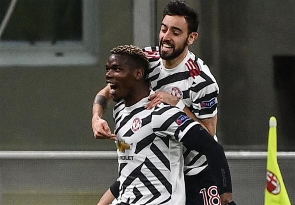 لیگ اروپا، منچستریونایتد با غلبه بر میلان جشن صعود گرفت، حذف تیم 9 نفره جرارد