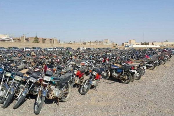خبرنگاران طرح ترخیص موتورسیکلت های رسوبی در بوشهر تمدید شد