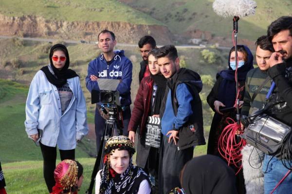 خبرنگاران فیلم کوتاه بووکه بارانه در پاوه ساخته شد