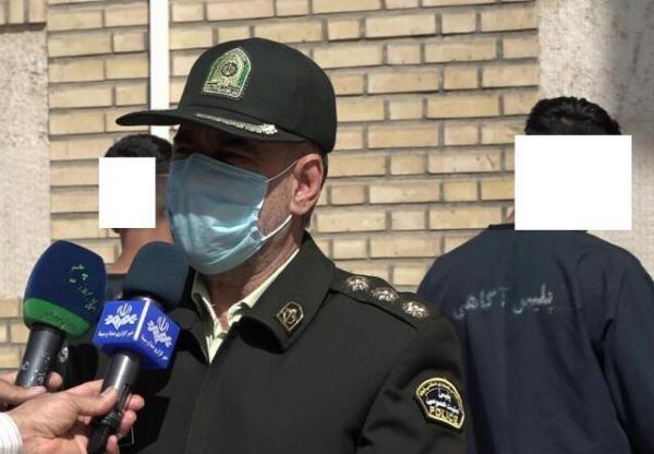 عاملان تخریب خودروها در شهریار دستگیر شدند