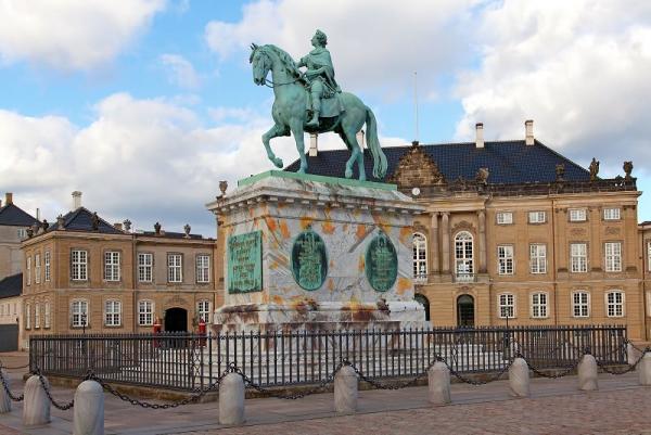 کاخ های سلطنتی، ساختمان های مسحور کننده کپنهاگ، عکس