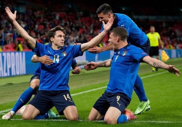 یورو 2020، صعود سخت ایتالیا در وقت های اضافه با غلبه بر اتریش