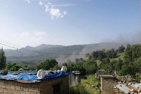 حملات توپخانه ای ارتش ترکیه به مناطقی از شمال عراق