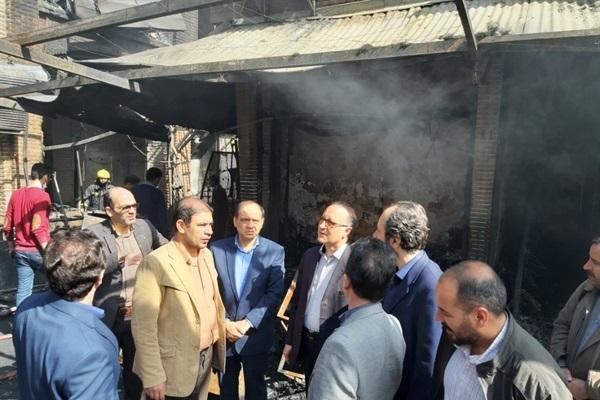 بازار تبریز به علت بازسازی های اصولی کمترین آسیب را دیده است، شروع آنالیز و ارزیابی برای اجرای اقدامات بازسازیی